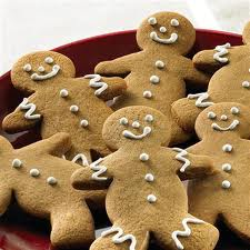 Gingerbread Man Cookies Holiday Cocktail